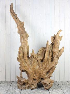 Holzskulptur Teakholz 57-1 GJ