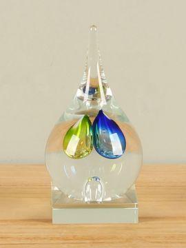 Figur Glas farbig