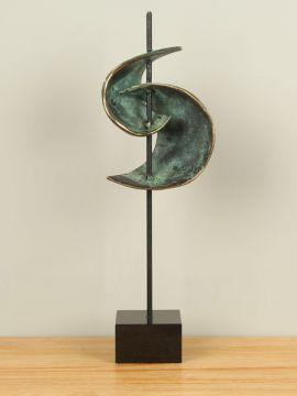 Skulptur Bronze Compositie