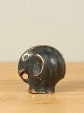 Decoration Bronze Olifant