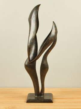 Bronze Figur Abstract Duo