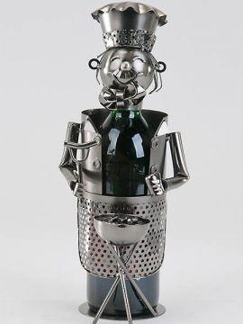 Flaschenhalter Griller aus Metall