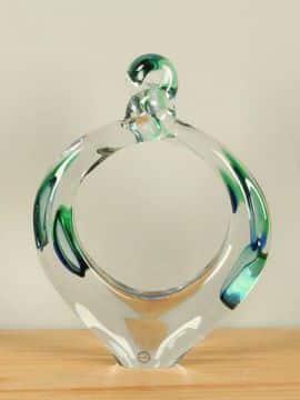 Ring Glas blau/grün