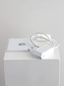 LED-Sockel weiß