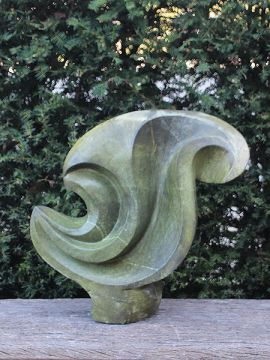 Tumble Gartenstatue Naturstein