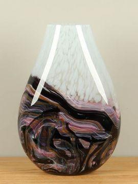 Vase Glas Snow