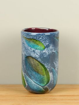Vase aus Glas