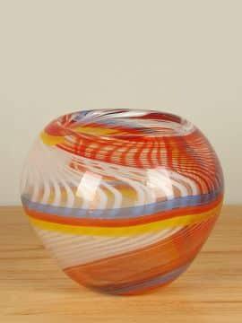 Vase mehrfarbig 18 cm