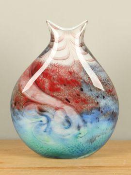 Vase Glas multicolor