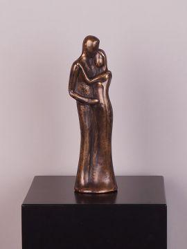 Statue Bronze Koppel trouwen