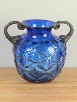 Glas Deko Petrovskiy blau