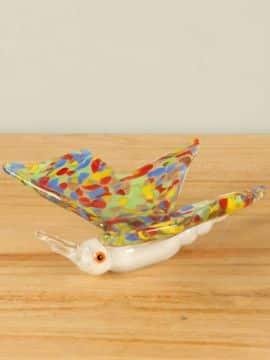 Schmetterling farbig Glas