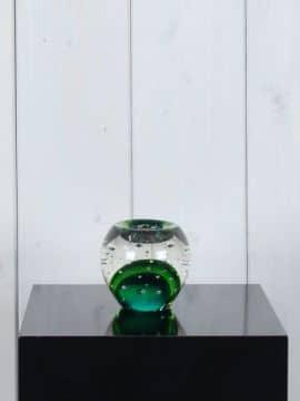 Windlicht Glas grün