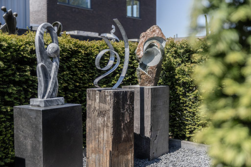 Gartenstatuen Aluminium