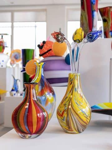 Glas-Skulpturen