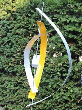 Yellow 4 inkl. Hardstein Sockel 100*20*15 cm
