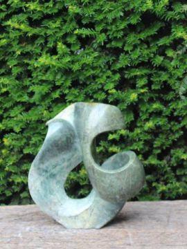 Figur Naturstein Serpentin Endless Live