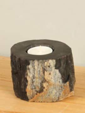 Windlicht Fossiles Holz nr. 26