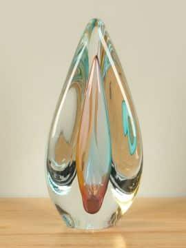 Glasskulptur Twister 26 cm