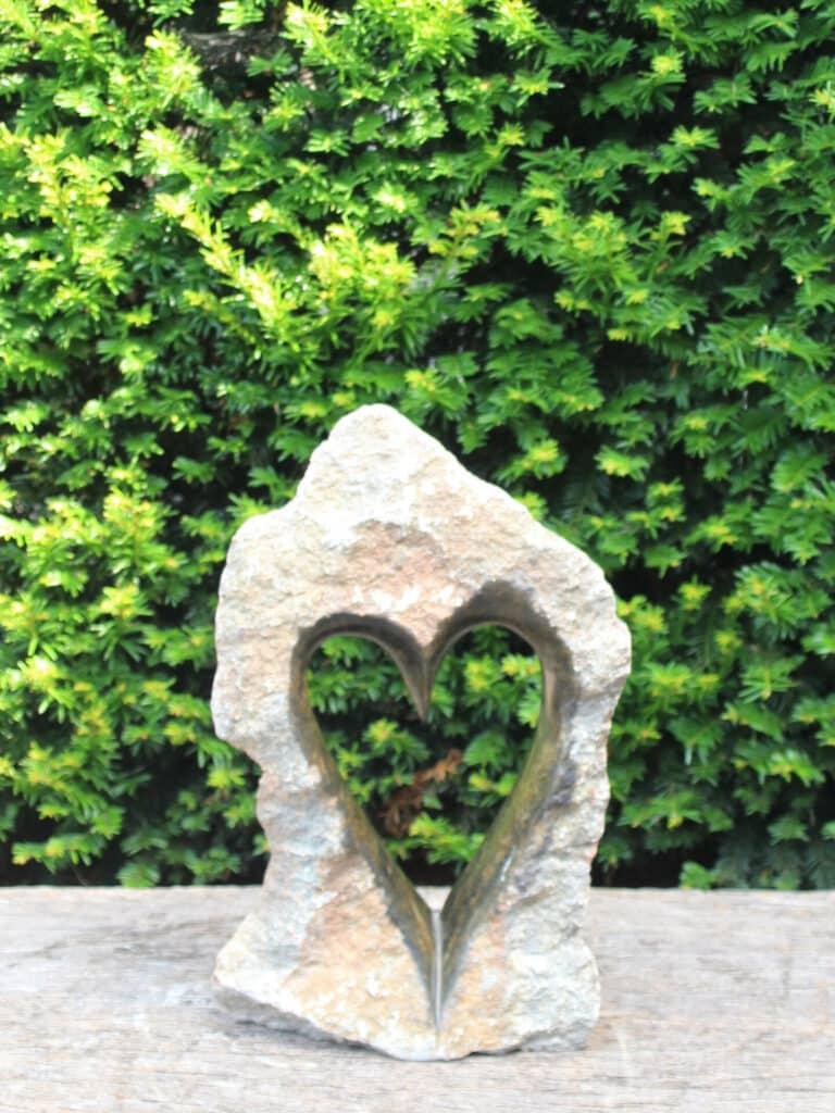 tuinbeeld hart 1